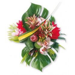 Fleurs exotiques achat de bouquets de fleurs et plantes for Vente de bouquet de fleurs en ligne