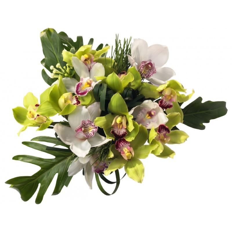 Bouquet d\'Orchidée | Jardin d\'Afrique | Fleurs Exotiques